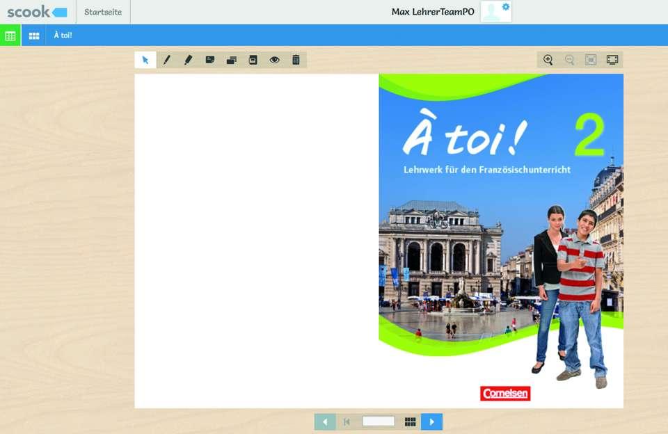 txn-p. Innovative Lernplattformen stellen das Schulbuch als E-Book zur Verfügung und erleichtern nicht nur das Lernen, sondern auch den Schulranzen. Foto: Cornelsen/txn-p