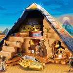 Geschenkidee für kleine Geschichtsfans: Die Welt der Pharaonen fürs Kinderzimmer. Foto: djd/Playmobil