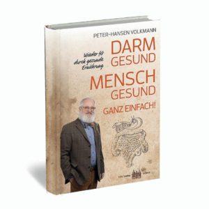 Darm gesund – Mensch gesund! Ganz einfach! Das neue Buch von P.-H. Volkmann veranschaulicht den Weg in ein gesundes Leben. Foto: hypno-A GmbH/akz-o